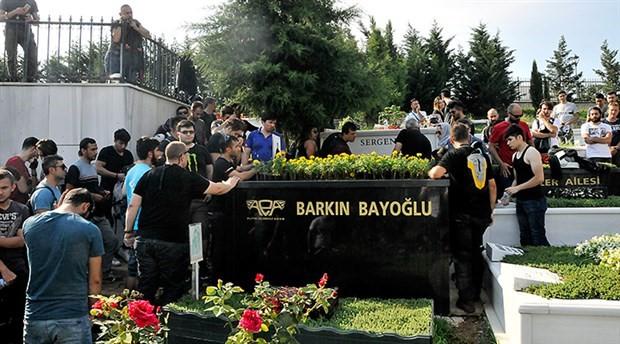 Barkın Bayoğlu mezarı başında anıldı