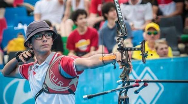 Türkiye Okçuluk Milli Takımı sporcusu Mete Gazoz, Avrupa gençler rekorunu kırdı