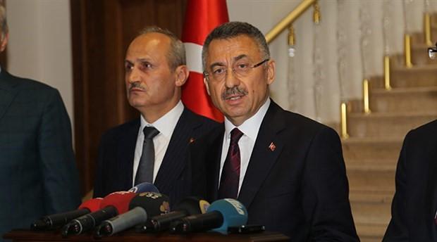 Erdoğan'ın yardımcısı Oktay, Ordu'daki sel felaketini medyaya yükledi