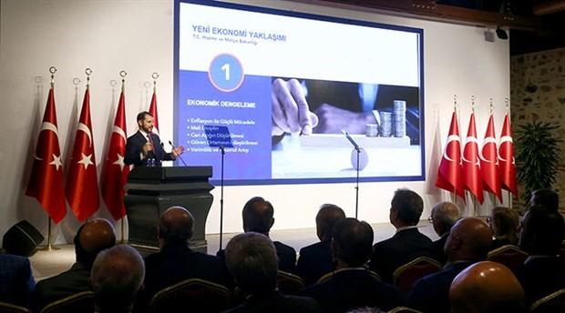 Bakan Albayrak, 'yeni ekonomi yaklaşımı'nı açıklıyor