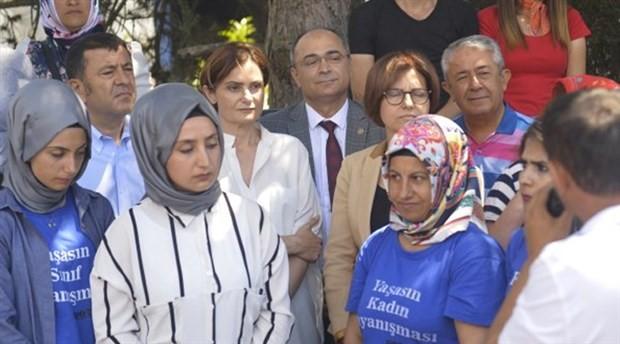CHP'den Flormar işçilerine destek ziyareti