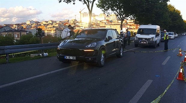 'Dur' ihtarına uymayan araçtakilere polis ateş açtı: 1 yaralı