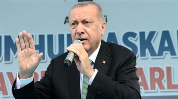 """Erdoğan, Gümüşhane'de: """"Dolarmış, kurmuş bırakın bu işleri"""""""