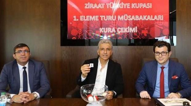 Türkiye Kupası 1. eleme turu kurası çekildi