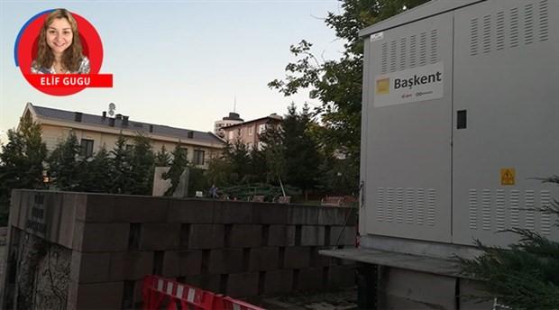 Uğur Mumcu Anıtı'nın yanına elektrik trafosu diktiler