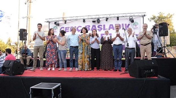 HDP'den Diyarbakır'da 'Gençlik Şöleni ve Halk Buluşması' mitingi