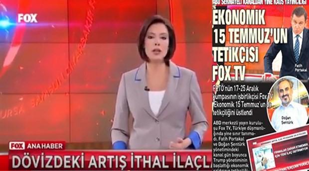 """Sabah, 'dolar' üzerinden FOX'u hedef aldı; """"Ankara temsilcisinin işine son verildi"""""""