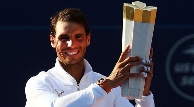 Rogers Kupası'nda zafer Nadal'ın