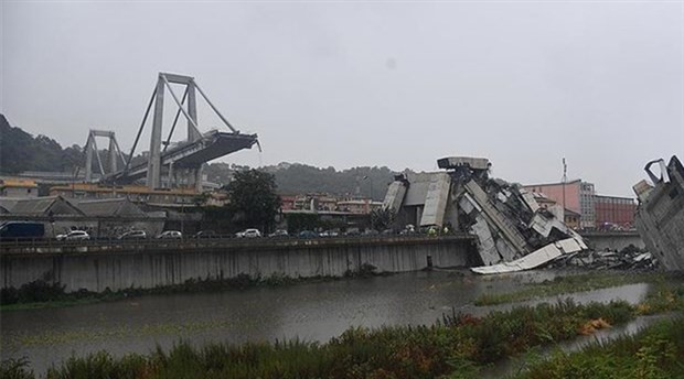 İtalya'da faciaya neden olan köprü yıkılacak