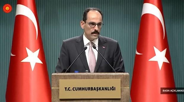Kalın: Türkiye kimseyle ekonomik savaş peşinde değildir