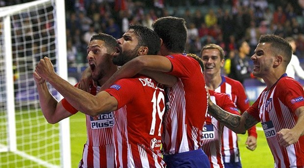 UEFA Süper Kupa Atletico Madrid'in