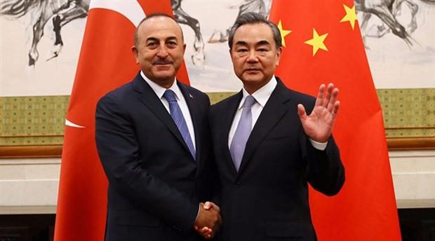Çavuşoğlu, Çin Dışişleri Bakanı ile görüştü