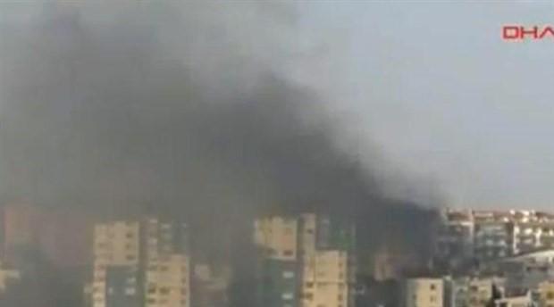 Çanakkale'de yangın: Alevler evlerin çatılarına sıçradı
