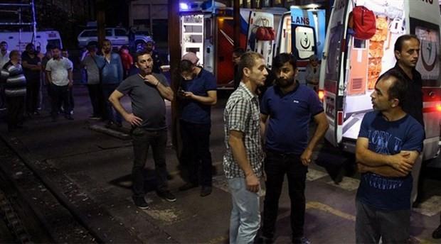 Tomarza'da maden ocağında göçük: 1 ölü, 1 yaralı