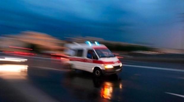 Yangından etkilenen 2 kişi hastaneye kaldırıldı