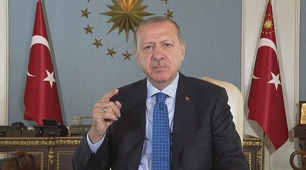 Erdoğan'dan 'bayram mesajı': Ekonomiye yönelik saldırının ezana ve bayrağa saldırıdan farkı yok