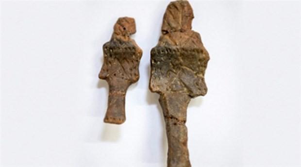 Beşiktaş'ta 5500 yıllık 2 heykelcik bulundu