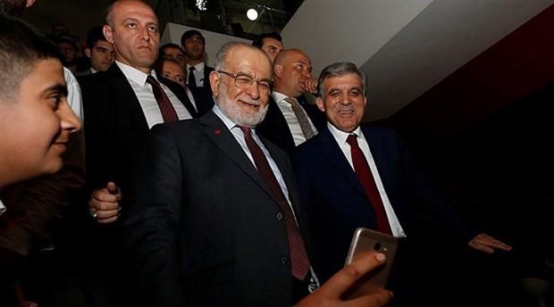 Saadet Partisi, Abdullah Gül'e sahip çıktı