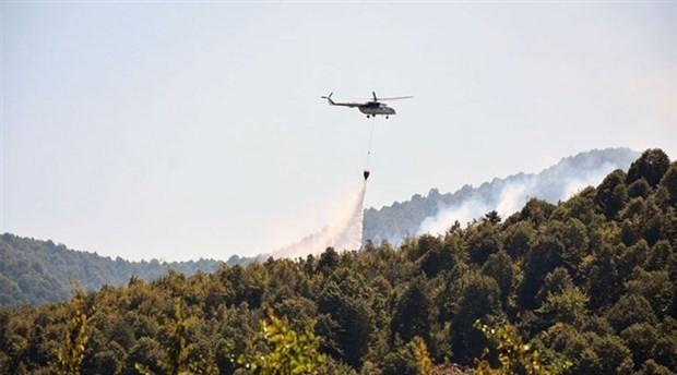 Bartın'da orman yangını: 10 hektarlık alan kül oldu
