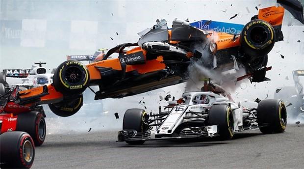 F1 Belçika Grand Prix'ini Vettel kazandı