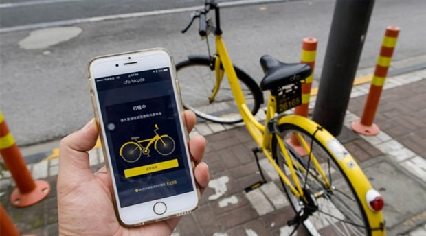 Uber araba yerine bisiklete yönelecek