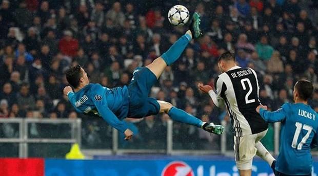 Sezonun en iyi golü Ronaldo'dan
