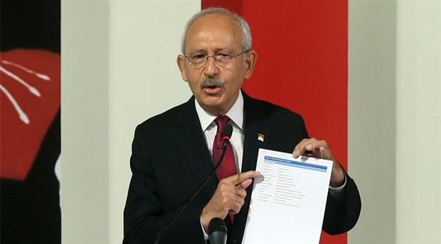 Kılıçdaroğlu'ndan Bakanlığa eleştiri: Bir numaradaki kişinin unvanı yok