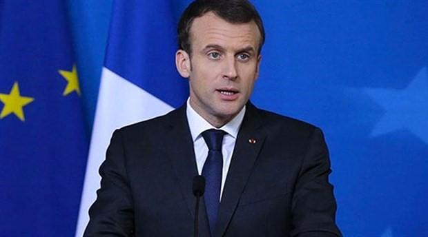 Macron: Türkiye ile stratejik ilişkiye ihtiyaç var
