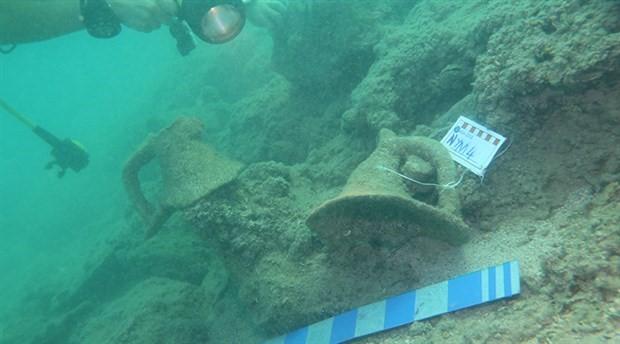 Alanya'da 2 bin yıllık batık gemi bulundu