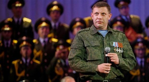 Donetsk Halk Cumhuriyeti lideri Zaharçenko, bombalı saldırı sonucu öldü