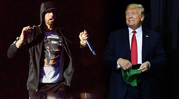 Eminem'den Trump temalı sürpriz albüm