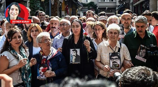 Cumartesi Anneleri yasak tanımadı: Bize her yer Galatasaray Meydanı