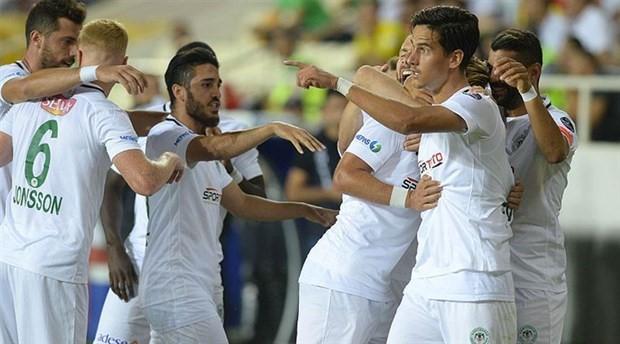Konyaspor 3 puanı bir golle aldı