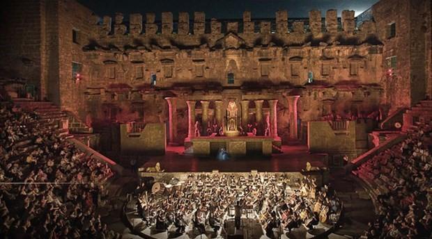 25. Uluslararası Aspendos Opera ve Bale Festivali yarın başlıyor
