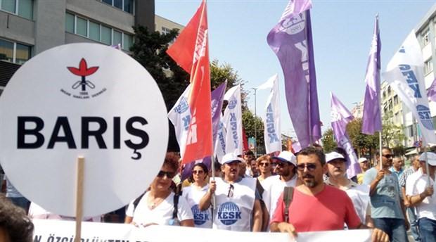 Barış ve demokrasi için mücadele çağrısı