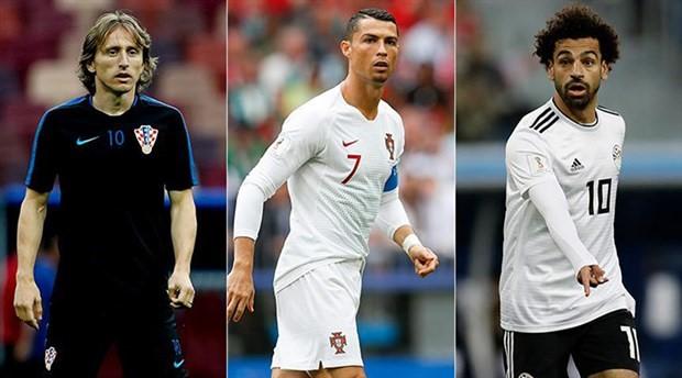 FIFA, 'yılın en iyileri ödülü'nde finale kalanları duyurdu