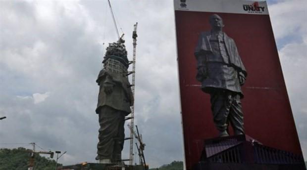 Dünyanın en büyük heykelinde sona doğru