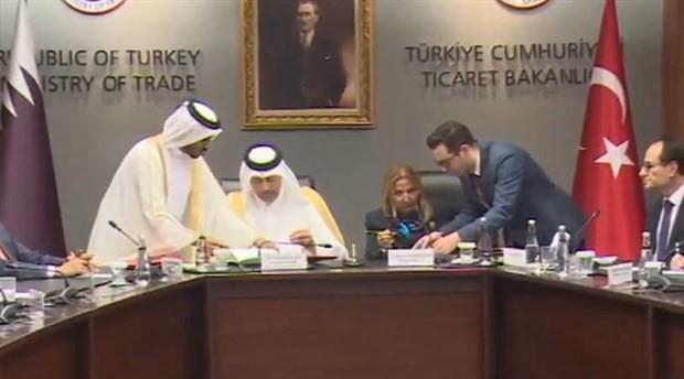 Türkiye ile Katar arasında 'ekonomik ortaklık' anlaşması