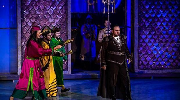 Aspendos Opera ve Bale Festivali'ni 'Turandot' açtı