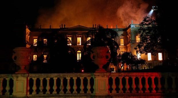 Brezilya'da yanan müzede yeni detaylar ortaya çıktı