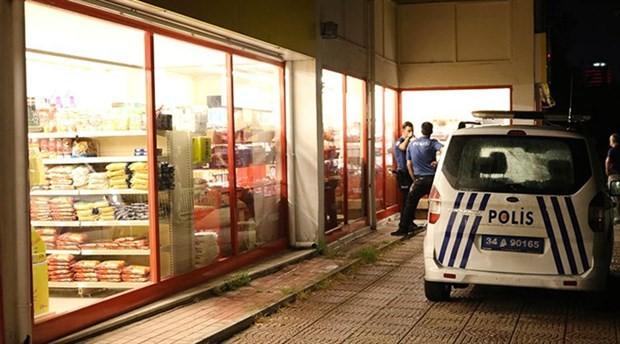 Maltepe'de silahlı market soygunu