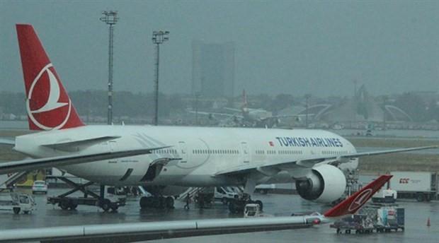 İstanbul'da hava ulaşımına sağanak engeli
