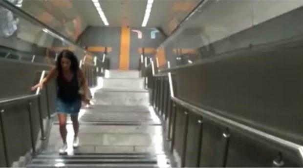 Kadıköy-Tavşantepe metrosunun Huzurevi istasyonunu su bastı