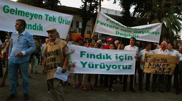 CHP'den Akçakoca'da 'Fındık için adalet' yürüyüşü