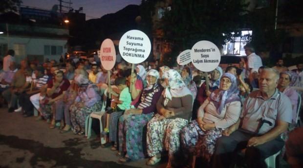 Kızılcaköy halkı jeotermal nöbetinde