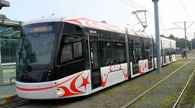 Samsun'da tramvay kazası: 1 yaralı
