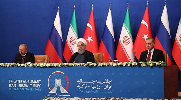 Tahran'daki Üçlü Zirve sonrası ortak bildirge yayımlandı