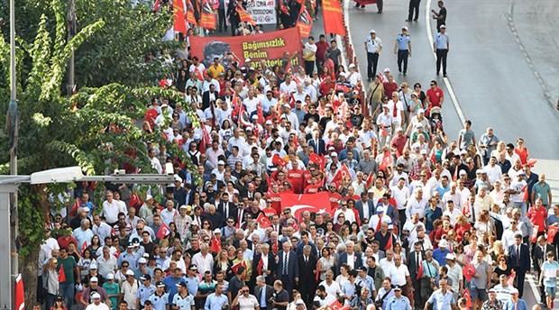 İzmir'in işgalden kurtuluşunun 96. yıl dönümü kutlandı