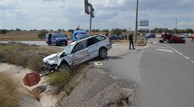 Kütahya'da zincirleme kaza: 7 yaralı