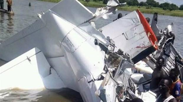 Sudan'da uçak düştü: 17 ölü